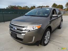 mineral grey metallic 2012 ford edge limited ecoboost exterior