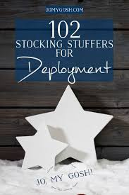 102 stocking stuffer ideas for deployment