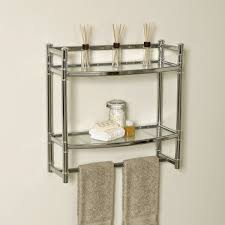 Glass Shelves For Bathroom Wall Bathroom Glass Shelves Wall Mounted 15 Image Wall Shelves