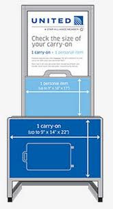 carry on fee the truth about airline carry on sizers and bag rules view from