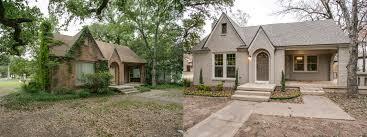 tudor bungalow before after goldenrod tudor front mcm homes llc