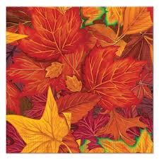 bulk party supplies 12ct beistle fall leaf luncheon napkins bulk party supplies