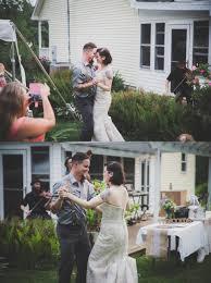 katie bruce a vintage backyard fourth of july wedding