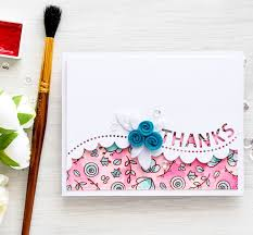 224 best thank you cards images on handmade