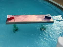 floating table for pool floating beer pong tables archives beer pong table designs