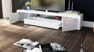 Meuble Colonne Laque Blanc by Meuble Tv Blanc A Led Pas Cher Meuble Tv Meuble De Salon Nels