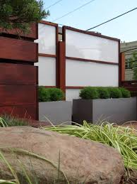 Modern Fence by Search Viewer Hgtv