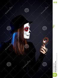 halloween background sugar skulls sugar skull make up stock photo image 75273288