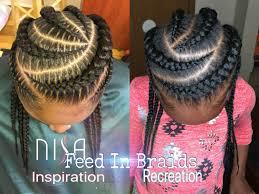 feed in braids on kids youtube