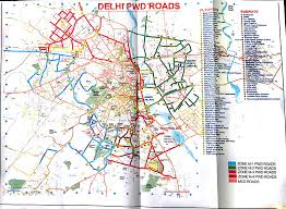 Ud Campus Map Public Works Department Govt Of Nct Of Delhi
