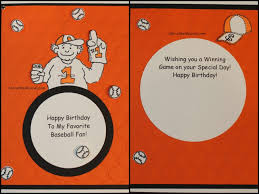 template baseball birthday cards free in conjunction with