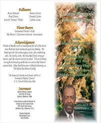 beautiful funeral programs 6 memorial program exles in word pdf
