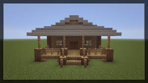 simple modern house minecraft home act