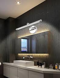 Led Bathroom Mirror Lighting - led bathroom lighting vanity lights with stainless steel chrome