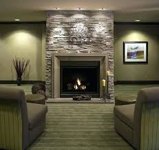 slate gray stacked stone fireplace reveal real evolution style