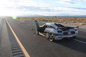 koenigsegg highway our exclusive ride in an koenigsegg agera rs on a closed nevada