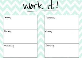 printable workout plan calendar blank printable workout calendar template 5 planning and
