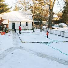 ice ice baby building the perfect backyard skating rink