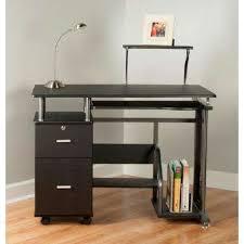 Black Desks With Hutch Desks Home Office Furniture The Home Depot