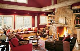 gemütliche wohnzimmer wohnzimmer rustikal gestalten teil 1 archzine net