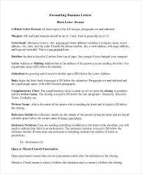 Business Letter Format Sent Via Email Best 25 Formal Business Letter Format Ideas On Pinterest Format