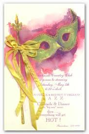 pink mardi gras mask mardi gras invitations mardi grass party invites