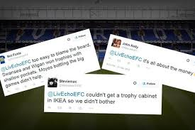 Liverpool Trophy Cabinet What Everton Fc Fans Are Saying About Lack Of Trophy Since Fa Cup