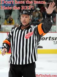 Red Wings Meme - ref you suck nhl referees consistently inconsistent unless you