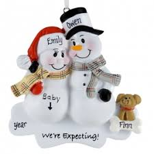 expecting couples ornaments gifts personalized ornaments for you