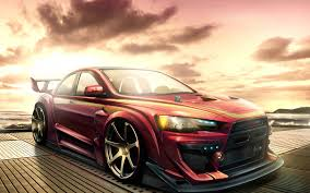 mitsubishi evo red mitsubishi lancer evolution red gallery moibibiki 9