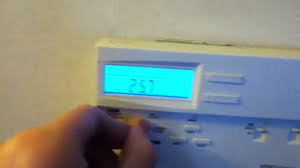 my lux programable thermostat youtube