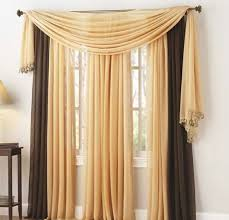 Yellow Brown Curtains 30 Curtain Decoration Exles The Creative Window Dressing