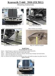 kenworth aftermarket accessories bumpermaker kenworth t660