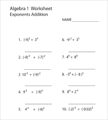 collection of solutions algebra 1 worksheets pdf in format sample