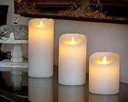 5 inch glitter luminara flameless candles