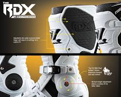 custom motocross boots onealmotocross introduces the all new rdx boot