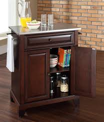 buy cambridge natural wood top kitchen island w bun feet