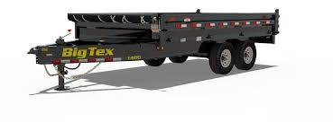 big tex trailers 14od gn over the axle dump