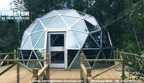 geodome house dia 6m 8m 10m geodesic glass dome house for greenhouse recreation