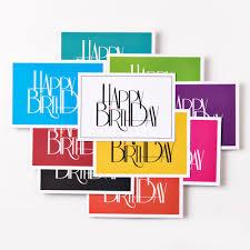 geburtstagskarten design 10er set design geburtstagskarte happy birthday din a6