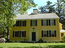 colonial style house architecture