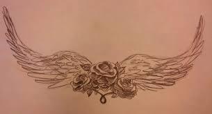 stencil wings lower stomach tattoos insigniatattoo com