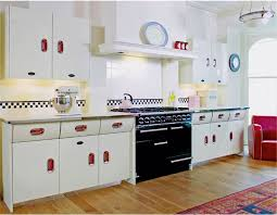 50s kitchen ideas style kitchen mixes retro decor with industrial 1950s style