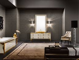 High End Bathroom Vanities by Milldue Majestic 01 Lacquered Glass High End Italian Bathroom