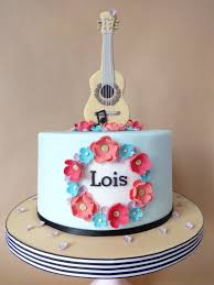 guitar cake topper acoustic guitar cake for lois s 10th birthday i made the flickr