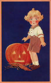 78 best halloween postcards images on pinterest vintage cards