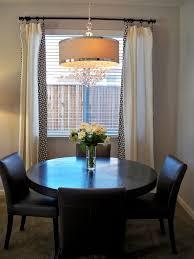 modern round dining room table modern round dining table dining room modern with curtains