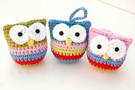 ravelry owl ornaments pattern by homick