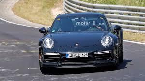 modified porsche 911 turbo next gen porsche 911 turbo u0027992 u0027 spied