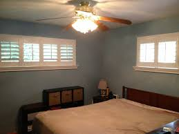Bedroom Windows Louverwood Plantation Shutters On Transom Windows In A Master
